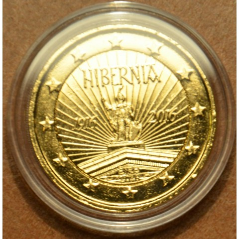 2 Euro Ireland 2016 - 100 years of Easter Rising  (gilded UNC)