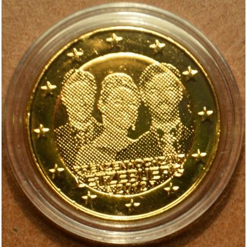 2 Euro Luxembursko 2012 - Královská svadba (pozlátená UNC)
