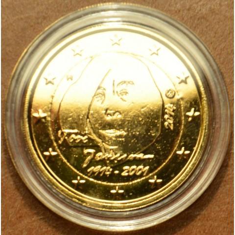2 Euro Fínsko 2014 - Tove Jansson (pozlátená UNC)