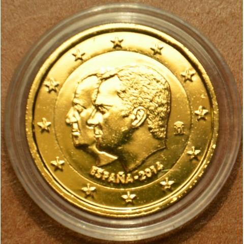 2 Euro Spain 2014 - Felipe VI. - New king of Spain  (gilded UNC)