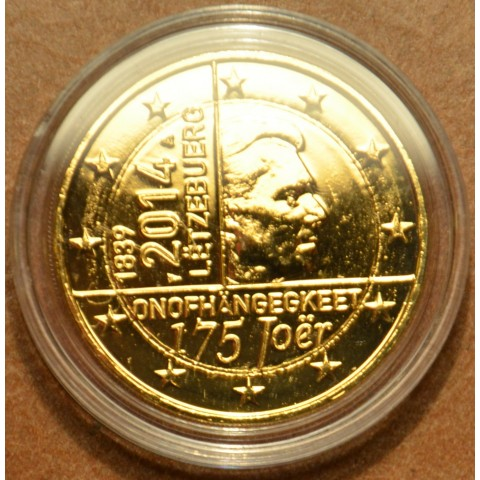 2 Euro Luxembourg 2014 - 175 years of independence (gilded UNC)
