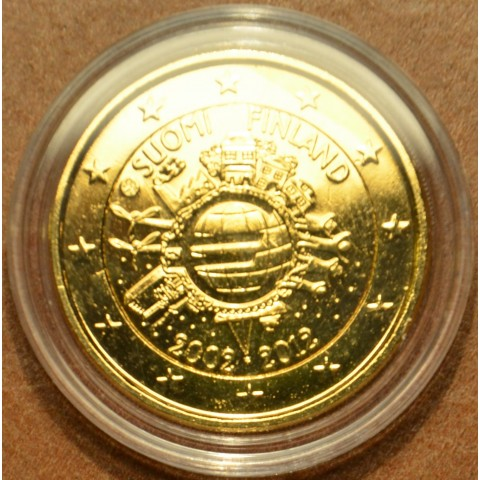2 Euro Finland 2012 - Ten years of Euro  (gilded UNC)