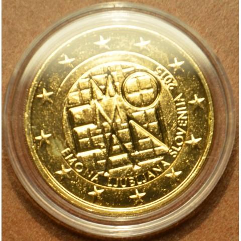 2 Euro Slovinsko 2015 - 2000 rokov založenia mesta Emona  (pozlátená UNC)