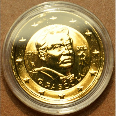 2 Euro Italy 2012 - 100th Anniversary of the Death of Giovanni Pascoli (gilded UNC)
