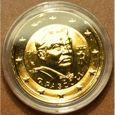 2 Euro Taliansko 2012 - 100. výročie úmrtia Giovanni Pascoli (pozlátená UNC)