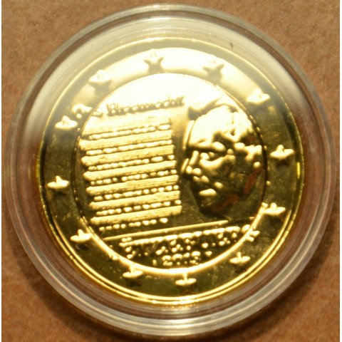 2 Euro Luxembourg 2013 - National Anthem (gilded UNC)