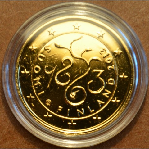 2 Euro Finland 2013 - 150th Anniversary of Parliament of 1863 (gilded UNC)