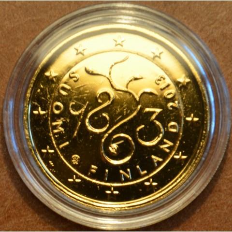 2 Euro Fínsko 2013 - 150. výročie Parlamentu 1863  (pozlátená UNC)