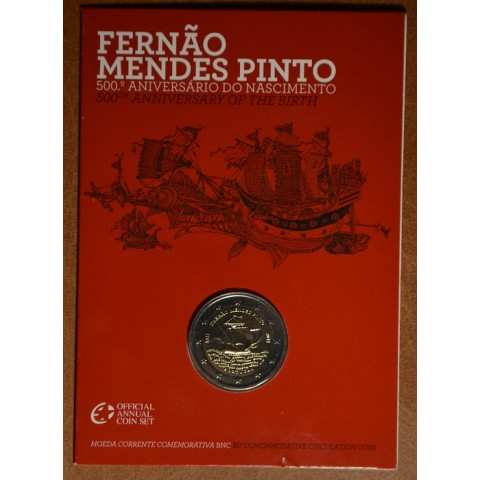 2 Euro Portugal 2011 - 500th annivesary of the birth of Fernão Mendes Pinto (BU)