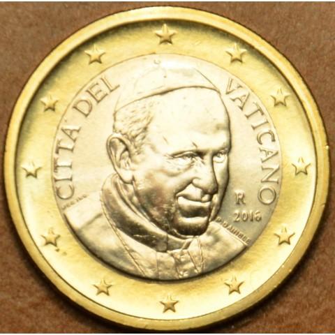 1 Euro Vatikán 2016 František (BU)