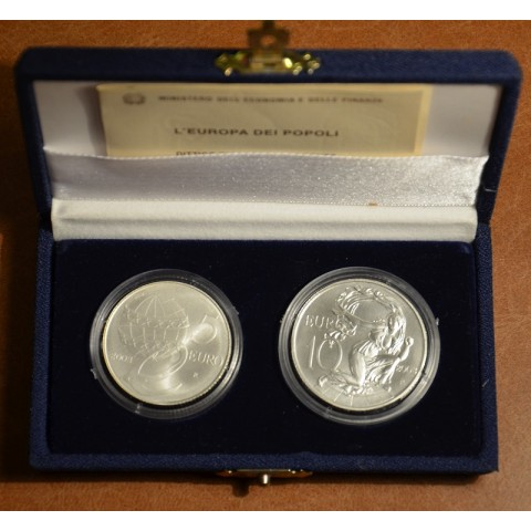 5 + 10 Euro Italy 2003 - L'Europa dei Popoli (BU)