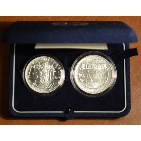 5 + 10 Euro Taliansko 2004 - Puccini (BU)