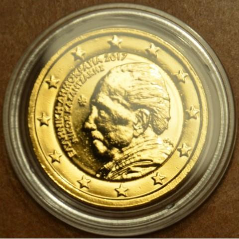 2 Euro Greece 2017 - Nikos Kazantzakis (gilded UNC)