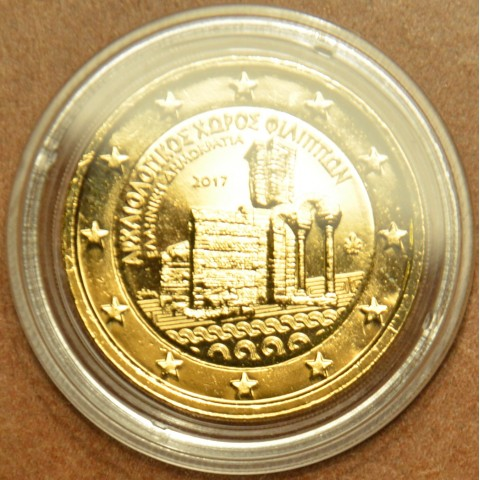 2 Euro Greece 2017 - Archaeological site of Philippi (gilded UNC)