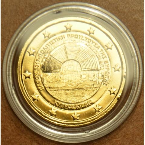 2 Euro Cyprus 2017 - Paphos (gilded UNC)