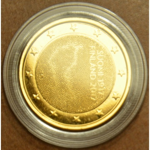 2 Euro Finland 2017 - 100 years of independence (gilded UNC)