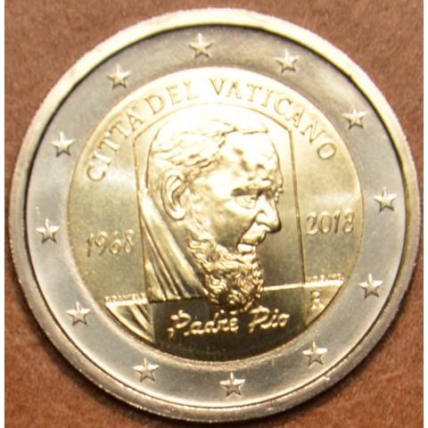 2 Euro Vatican 2018 - Padre Pio (UNC)