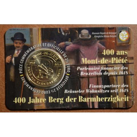 2,5 Euro Belgium 2018 Mont-de-Piété (BU)