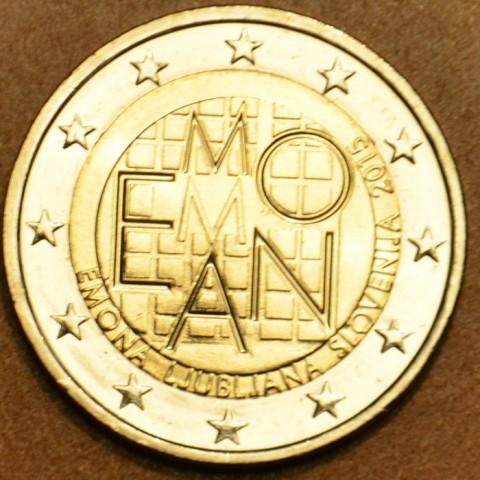 2 Euro Slovinsko 2015 - 2000 rokov založenia mesta Emona  (UNC)