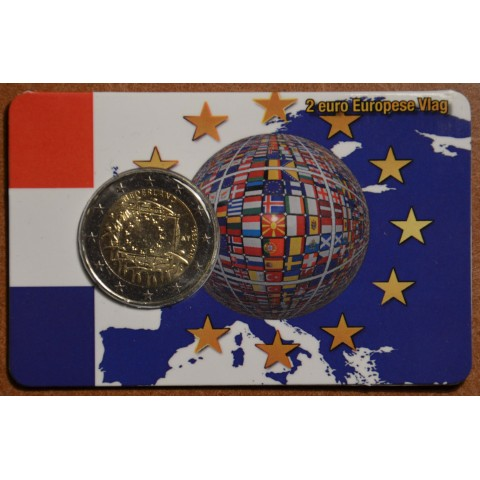 2 Euro Netherlands 2015 - 30 years of European flag (UNC)