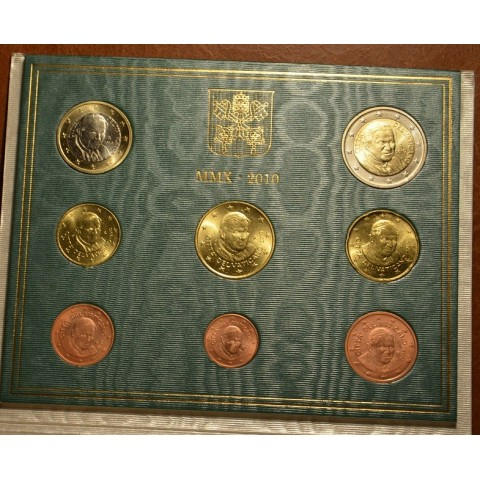 Set of 8 eurocoins Vatican 2010  (BU)