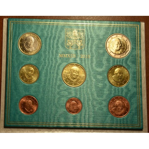 Set of 8 eurocoins Vatican 2013  (BU)