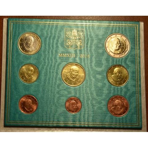 Set of 8 eurocoins Vatican 2013  (BU)
