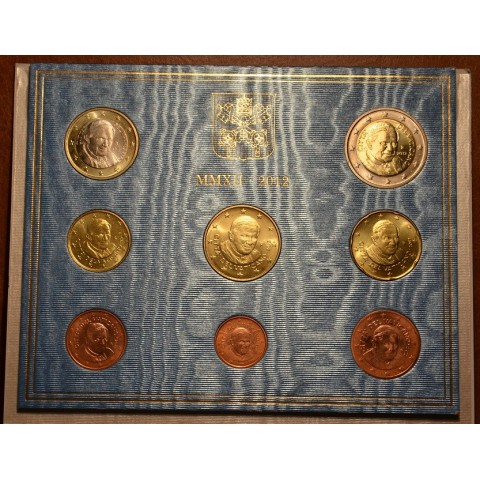 Set of 8 eurocoins Vatican 2012  (BU)