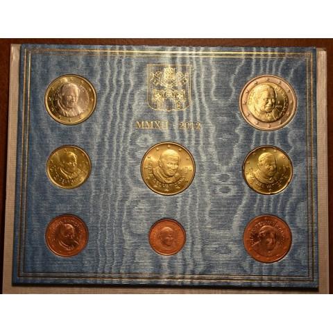 Set of 8 eurocoins Vatican 2012  (BU)