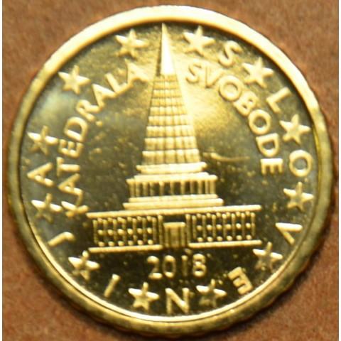 10 cent Slovinsko 2018 (UNC)