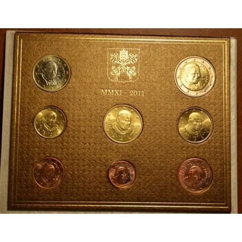 Sada 8 euromincí Vatikan 2011  (BU)