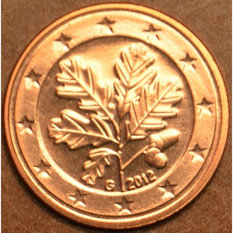 """2 cent Germany """"G"""" 2012 (UNC)"""