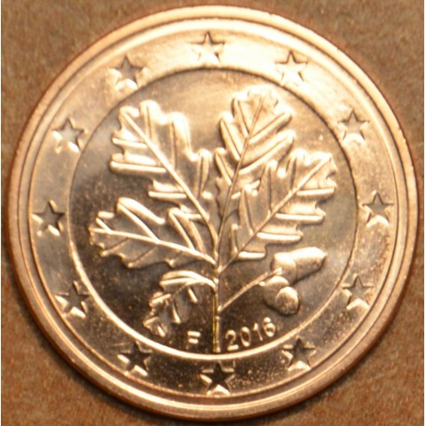 "5 cent Germany ""F"" 2016 (UNC)"