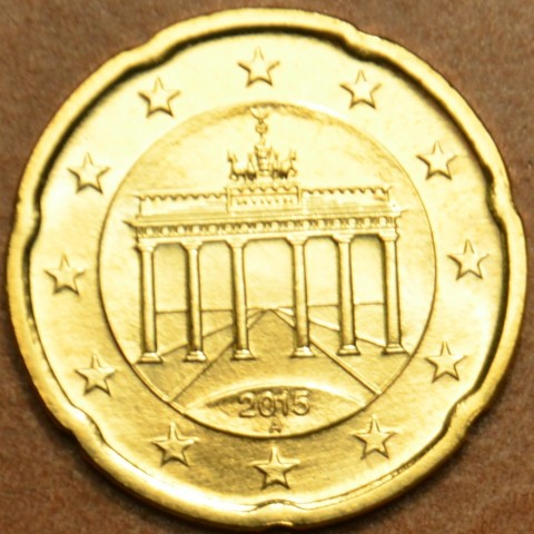 """20 cent Germany """"A"""" 2015 (UNC)"""