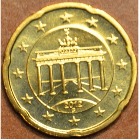 "20 cent Germany ""J"" 2012 (UNC)"