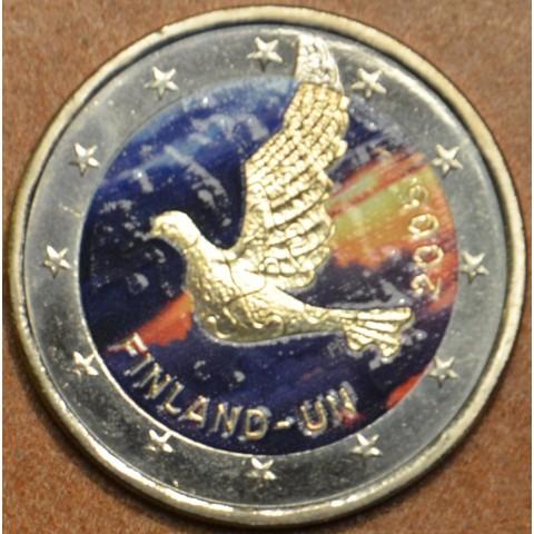 2 Euro Finland 2005 - 60th anniversary of the establishment of the UN II. (colored UNC)