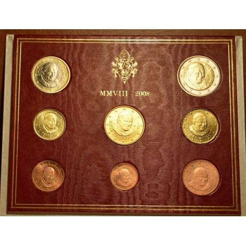 Sada 8 euromincí Vatikan 2008  (BU)