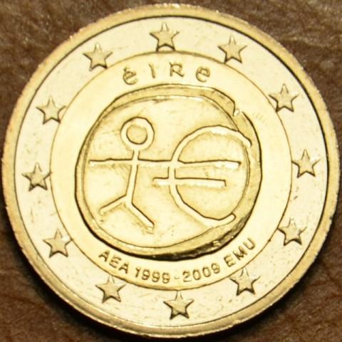 2 Euro Írsko 2009 - 10. výročie hospodárskej a menovej únie  (UNC)