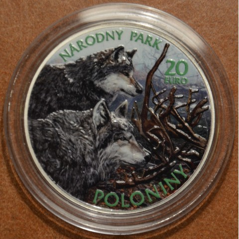 20 Euro Slovakia 2010 - National Park of Polony (colored BU)