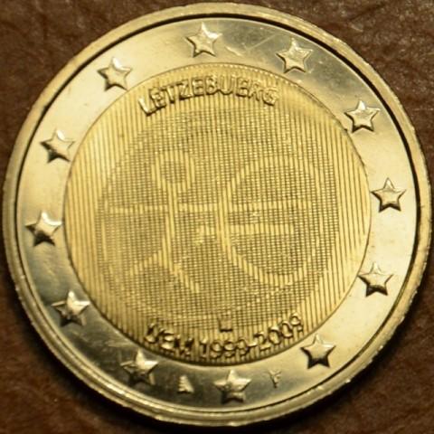 2 Euro Luxembursko 2009 - 10. výročie hospodárskej a menovej únie  (UNC)