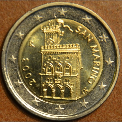 2 Euro San Marino 2003 - Government House (UNC)