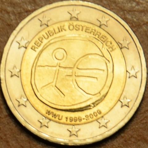 2 Euro Austria 2009 - 10th Anniversary of the Introduction of the Euro (UNC)