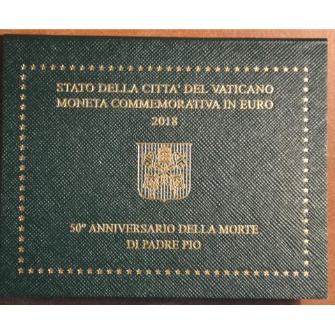 Cover for 2 Euro Vatican 2018 - Padre Pio
