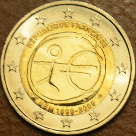 2 Euro France 2009 - 10th Anniversary of the Introduction of the Euro (UNC)