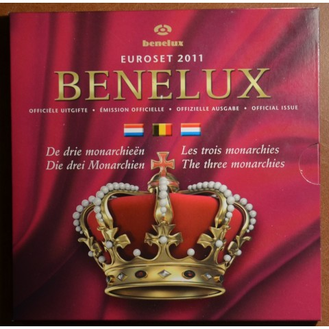 Official set of coins BeNeLux 2011  (BU)
