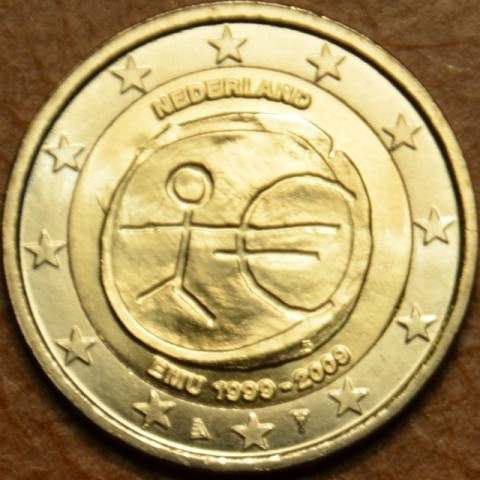 2 Euro Netherlands 2009 - 10th Anniversary of the Introduction of the Euro (UNC)