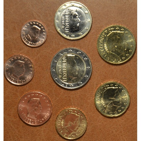 Sada 8 mincí Luxembursko 2018 (UNC)