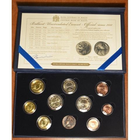 Set of 10 Euro coins - Malta 2012 (BU)
