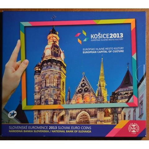 Cover for set of 8 Slovak coins 2013 - Košice