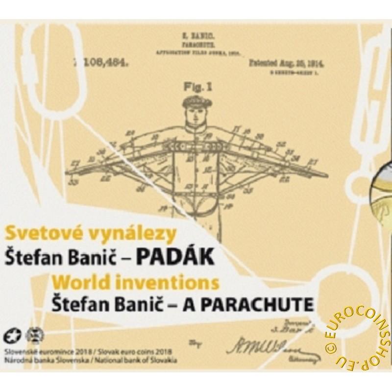Set of 8 Slovak coins 2018 Banic (BU)